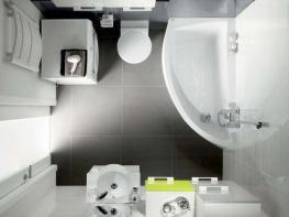 Къде да сложите ваната в малката баня