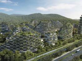 """Китай вече строи първия си """"град-гора"""""""