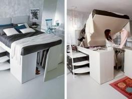 Уникални мебели за малки жилища